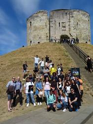 group student york visit