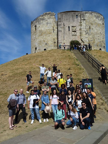 group student york visit