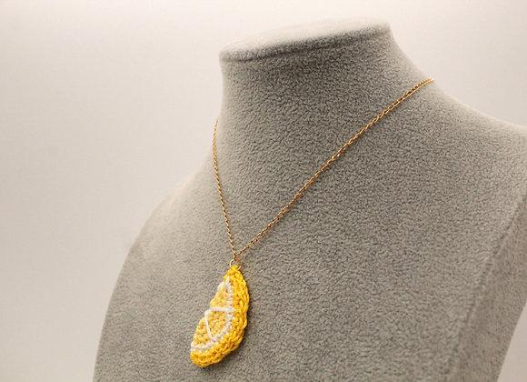 Lemon Slice Necklace