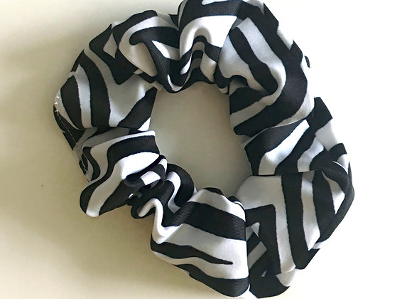 Zebra Scrunchie