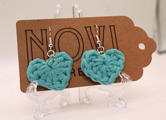 Mini Heart Earrings