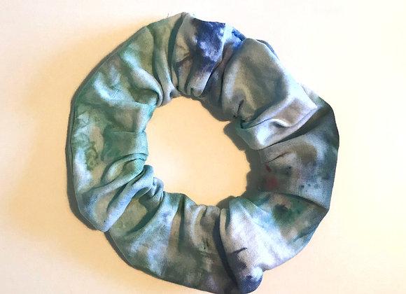 'Laguna' Hand Dyed Scrunchie