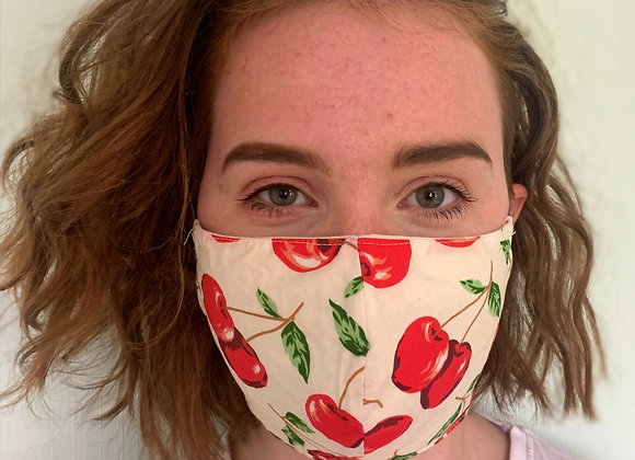 Patterned Fabric Face Mask