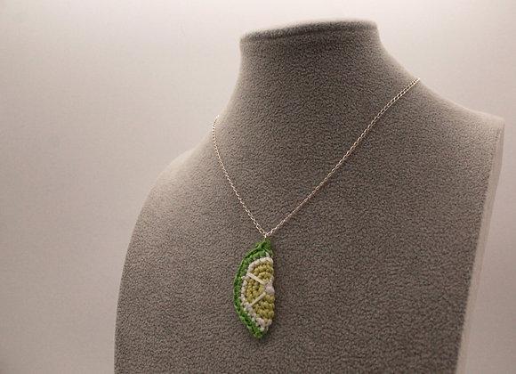 Lime Slice Necklace