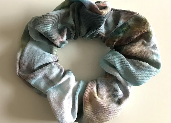 'Down to Earth' Hand Dyed Scrunchie