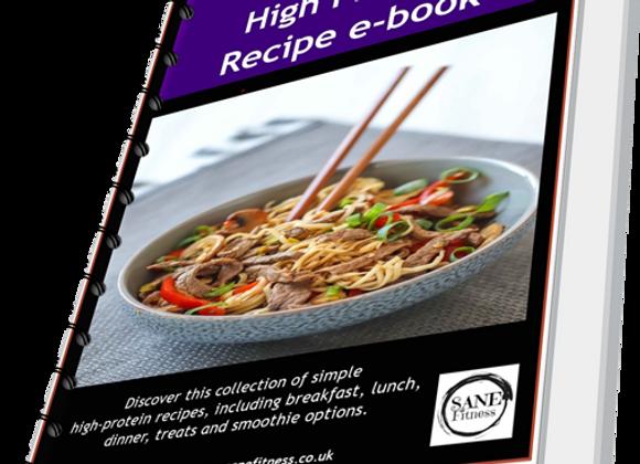 Sane High Protein Recipe E-Book
