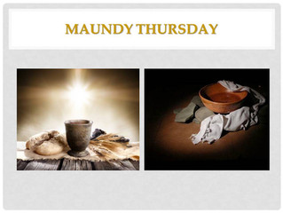 Countdown to the Cross - Maundy Thursday