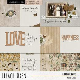 Forever Love Pocket cards Pack