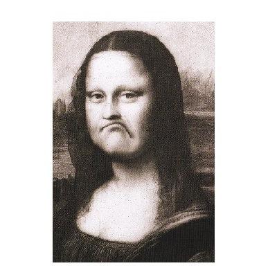 モナリザは微笑まない