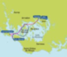 Balade autou du Golfe avec les Bateaux Bus du Golfe