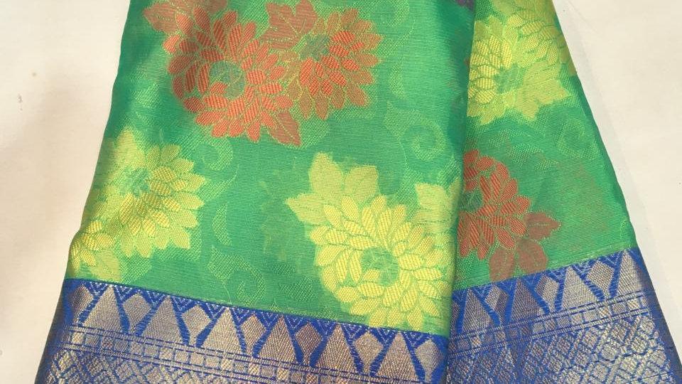 Cora silk saree