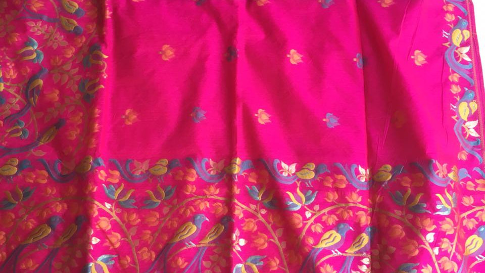 Bellam cotton silk saree