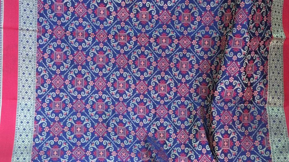 Banarasi Catlon silk saree
