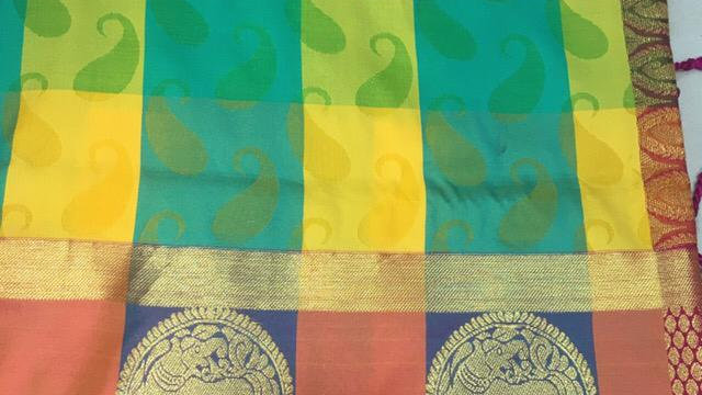 Fine Soft silk saree