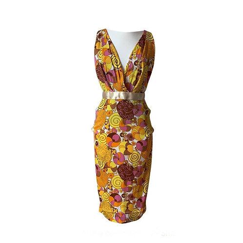 DOLCE & GABBANA Silk Dress Size 38 IT