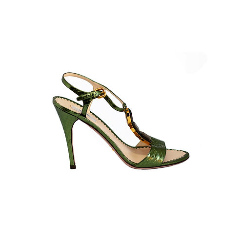 PRADA Jewelled Sandals, Size 39EU
