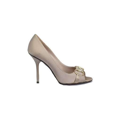 GUCCI Peep toe Heels, Size 36.5EU