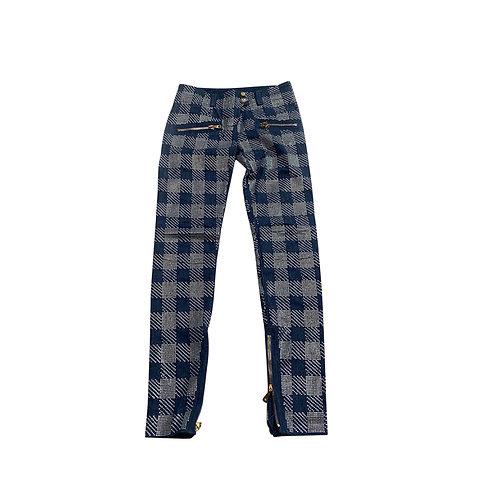 BALMAIN crystal embellished Jeans, Size 34FR