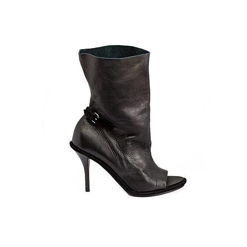 BALENCIAGA Peep-toe Heels, Size 37.5 EU