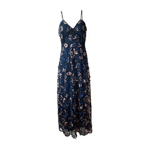 SELF-PORTRAIT Eva floral slip Dress, Size 10 UK