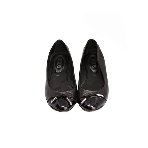 TOD'S Ballet Flats, Size 37 EU