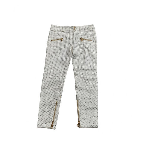 BALMAIN crystal embellished Jeans, Size 40FR