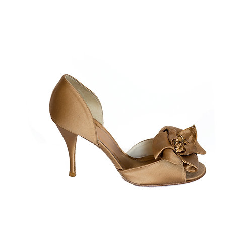 STUART WEITZMAN Peeptoes Heels, Size 37