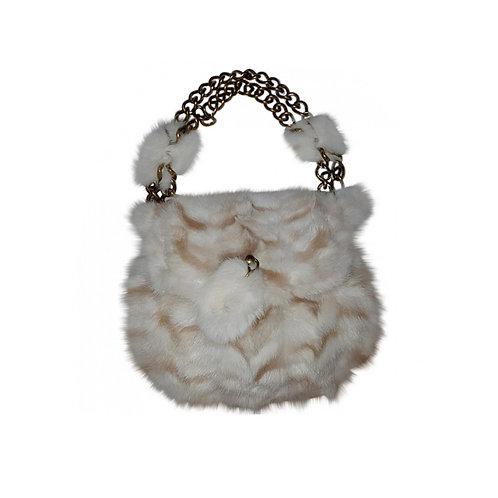 MARC JACOBS Mink Fur Bag