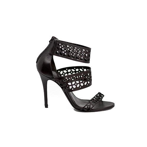 MCQueen Leather Heels, Size 38 EU