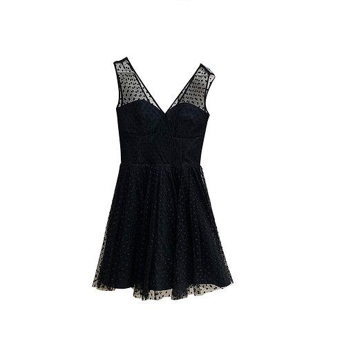 MILLY Grace Tulle Dress, Size 6US (10UK)