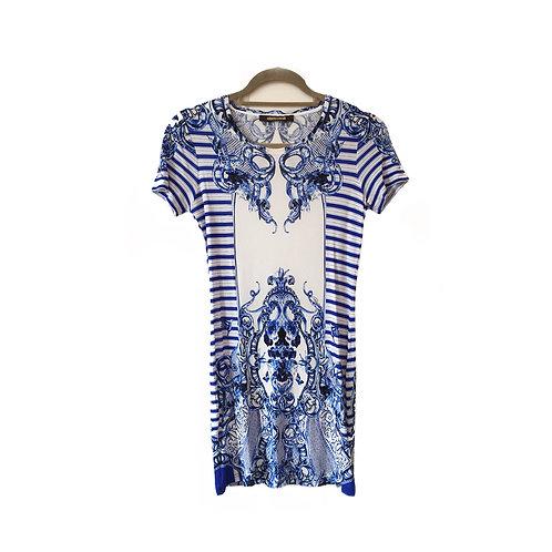 ROBERTO CAVALLI Mini Dress, Size 42 IT