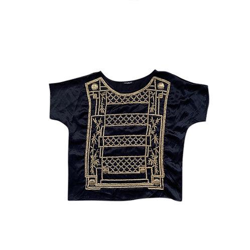 BALMAIN Silk Top Size 40 FR