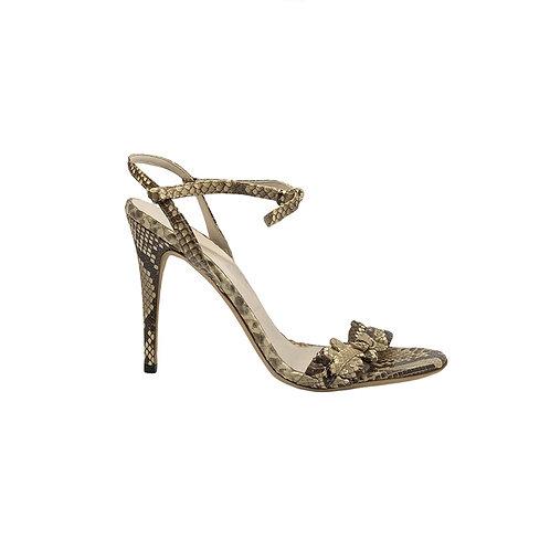 GUCCI snakeskin Sandals, Size 40EU