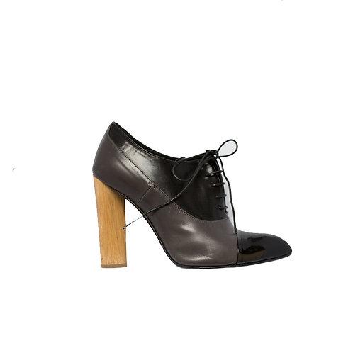 YSL Tribute Patent Sandals, Size 37.5 EU