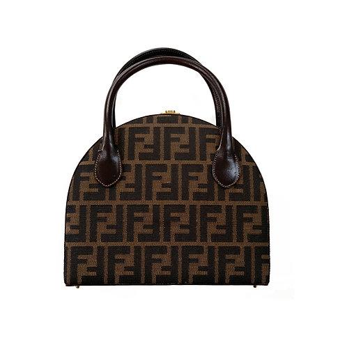 FENDI Zucca Brown canvas Vintage Bag