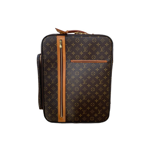 Louis Vuitton Bosphore Trolley Rolling Luggage Monogram Canvas Bag