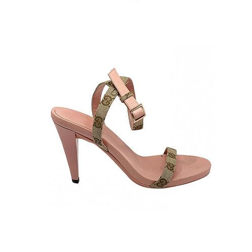 GUCCI cloth Sandals, Size 38.5IT (39.5 EU)