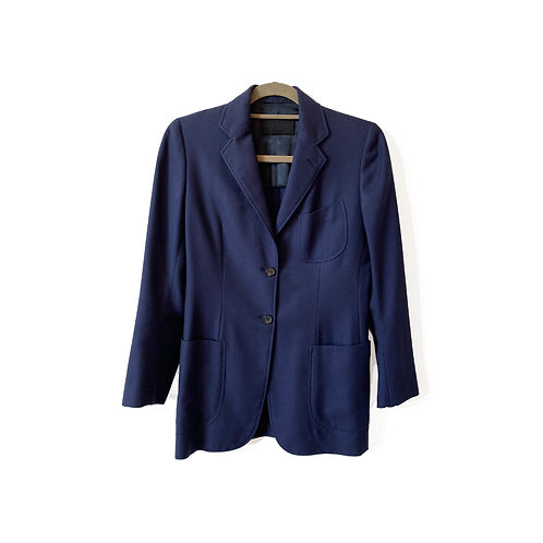 PRADA Cashmere Blazer, Size 42 IT