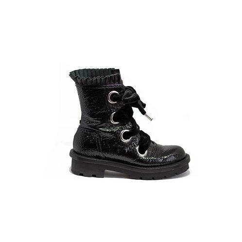 Alexander McQueen Combat Boots, Size 38