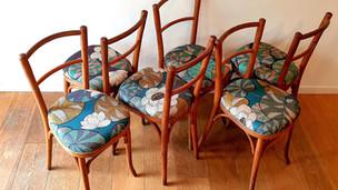 Série de chaises BUCOLIQUE