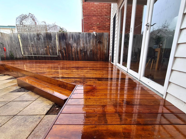 Merbau Deck - Richmond