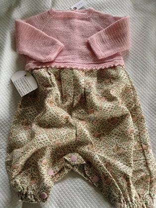 Pull + pantalon à pressions (3 mois)