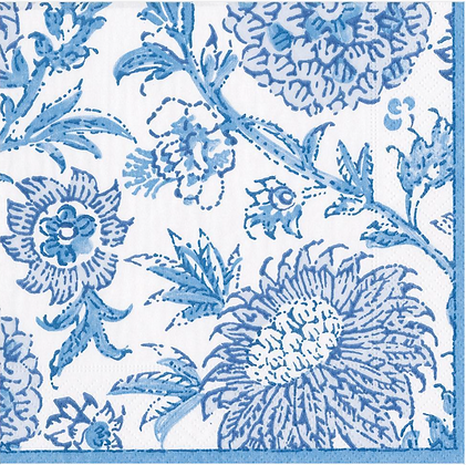 Serviette Blue Indienne