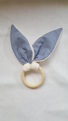 Hochet Bleu / Eponge Ivoire