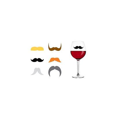 Marque verres -Moustache
