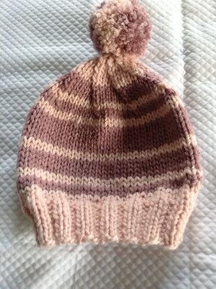 Chapeau à pompon (6 mois)