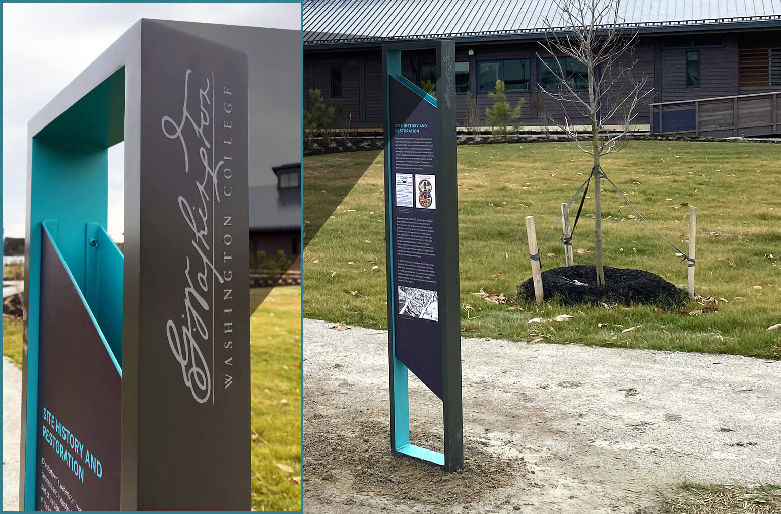ALTO™ Powder Coated Graphics with bents