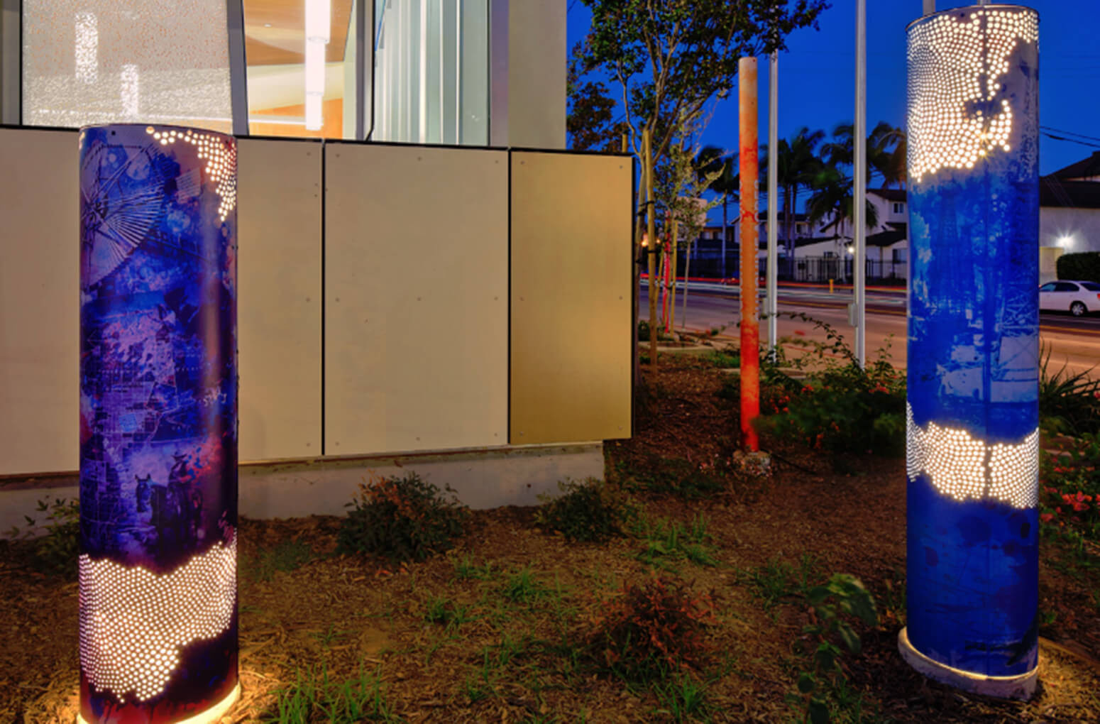ALTO™ Powder Coated Graphics to disguise elements