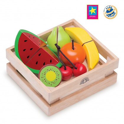 La panier de fruits en bois