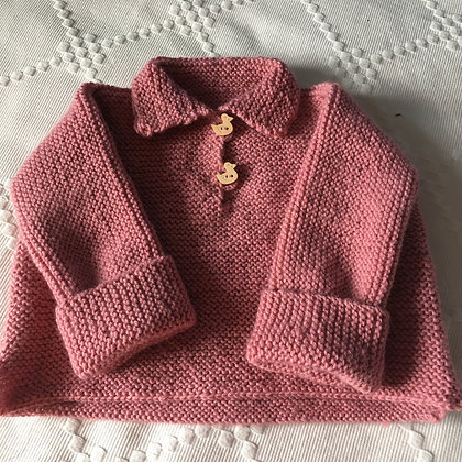 Pull boutons canard (1 an)